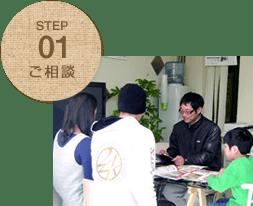 STEP01 ご相談