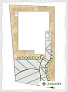 外構プラン(1) 機能門柱・土間コンクリート・タマリュウ